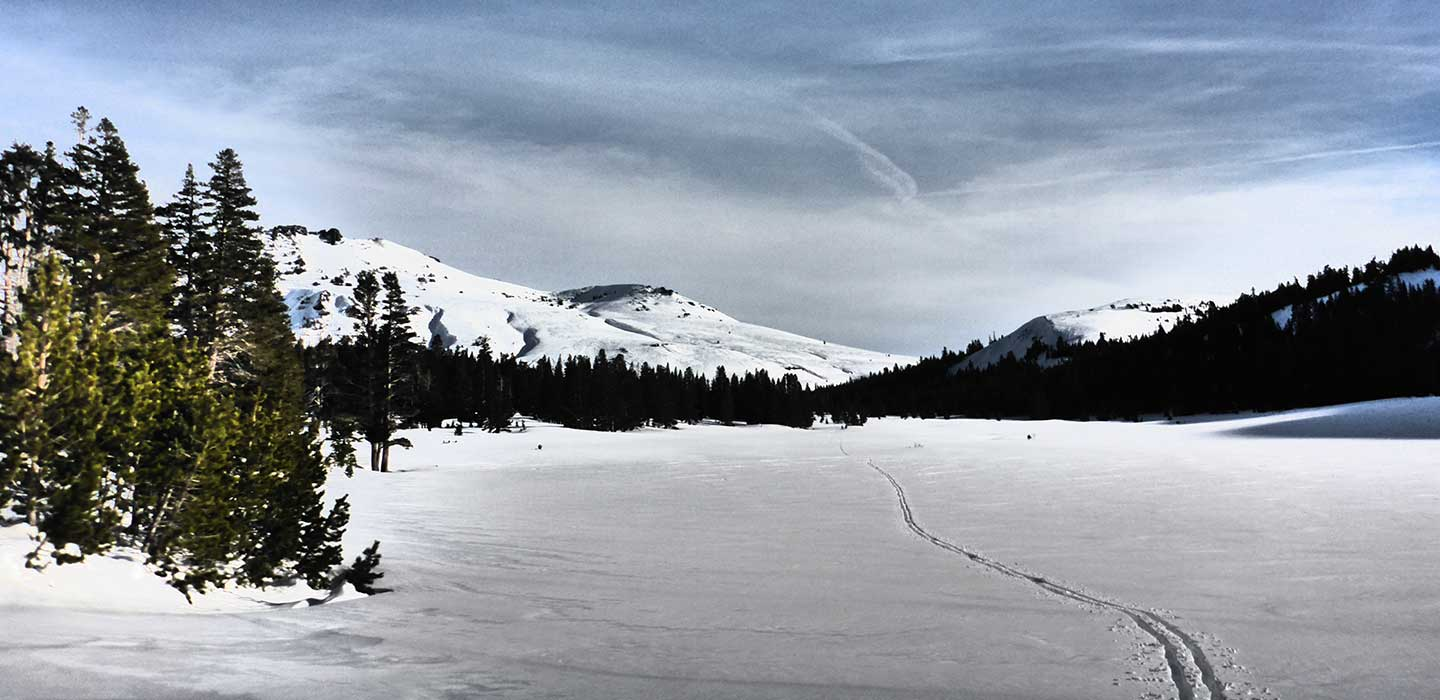 XC Skiing in South Lake Tahoe